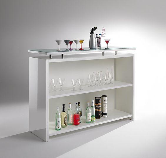 Good Bar Theke Hochglanz In Weiß Theken Esszimmer