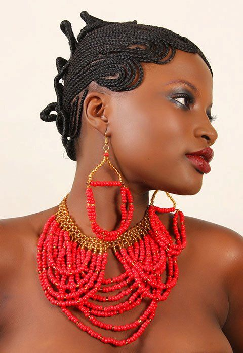 Beauty, Beads and Braids from Ghana - Funky Fashions - African Designers & Models.
