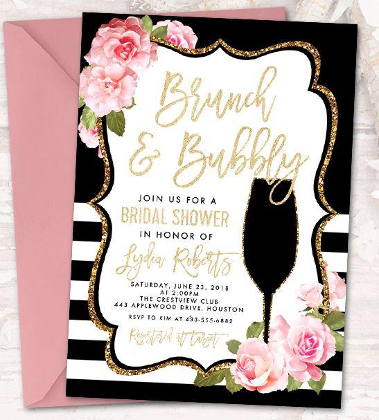 Find The Perfect Printable Printable Market Bubbly Bridal Shower Bridal Shower Invitations Bridal Shower Printables