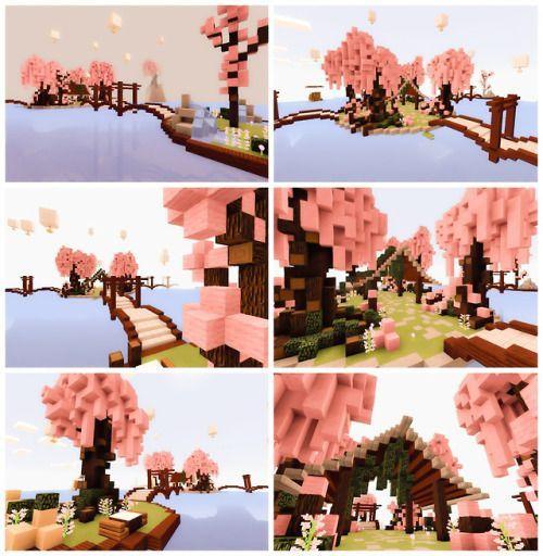 Kawaii Minecraft Tumblr Painting Minecraft Minecraft Wallpaper Minecraft Houses
