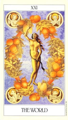 The World - Lovers' Tarot