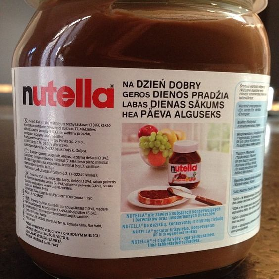 Truth: foreign Nutella (especially German or Polish) > regular Nutella
