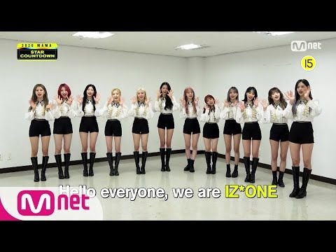 2020 Mama Star Countdown D 30 By Iz One Youtube Mnet Asian Music Awards Countdown Mama