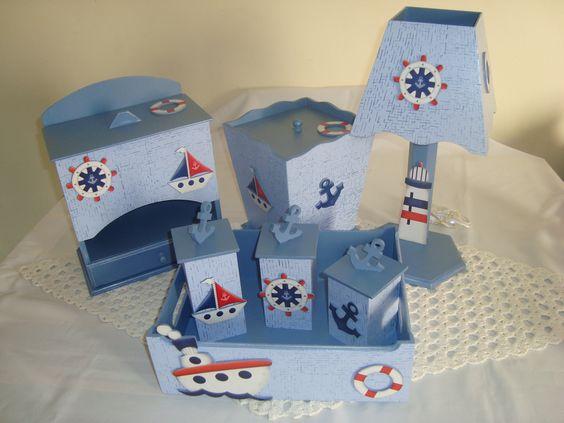 Resultado de imagem para quartos de bebe com tema nautico simples