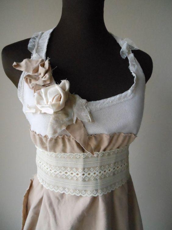 Creme brulee shabby and wedding on pinterest for Wedding dresses shabby chic