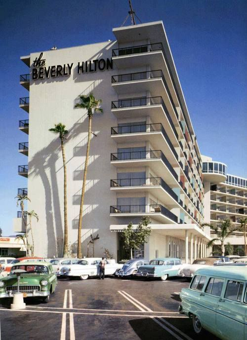 Opened 1953 the beverly hilton architect welton becket for 90214 zip code