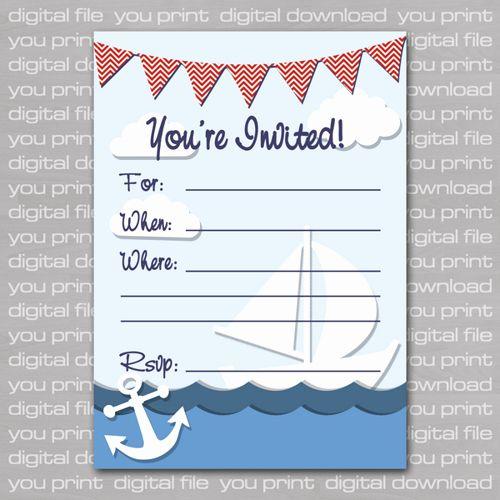 Free Nautical Invitation Templates Lovely Nautical Birthday Invitations Ideas Bagvania Nautical Invitations Nautical Birthday Invitations Invitation Template