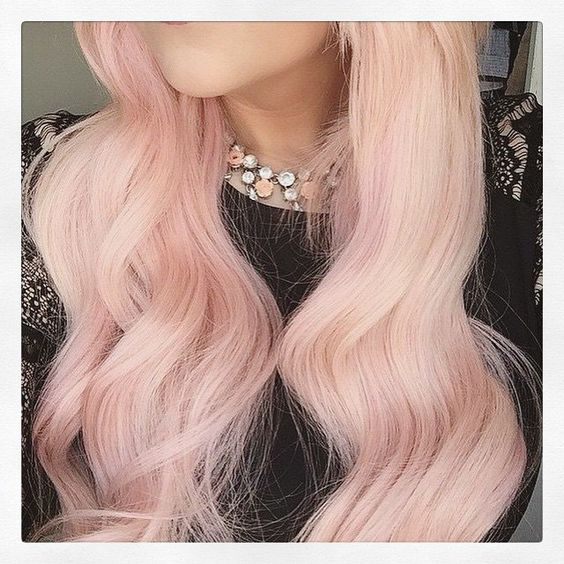 Tag a friend that would love this hair! #hair #inspo #hairinspiration #pastel #pastelhair #pink #pinkhair #hairgoals #hairtrend #hairfashion