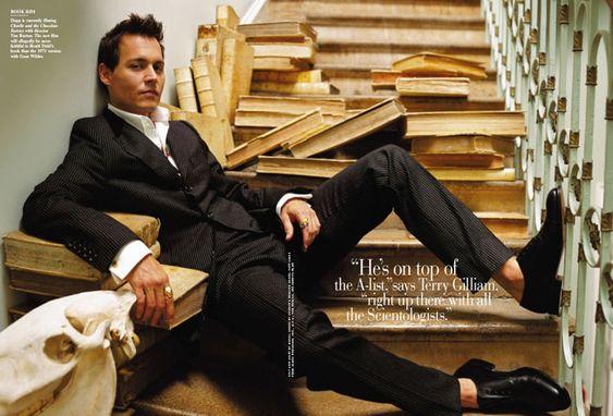 The Definitive Johnny Depp | vanityfair.com