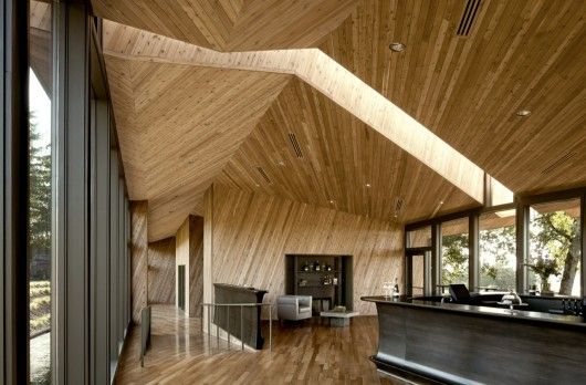 Tasting Room at Sokol Blosser Winery | Allied Works Architecture