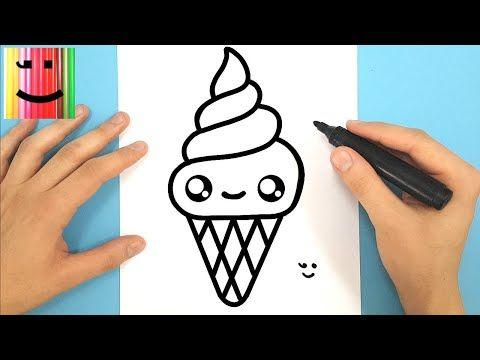 Drawing Youtube En 2020 Dessin Kawaii Glace Dessins Faciles Dessin Glace