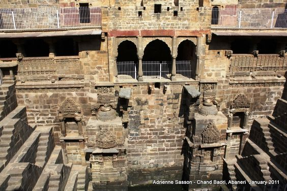 Into the Stepwells of Chand Baori,  #Rajasthan, #India