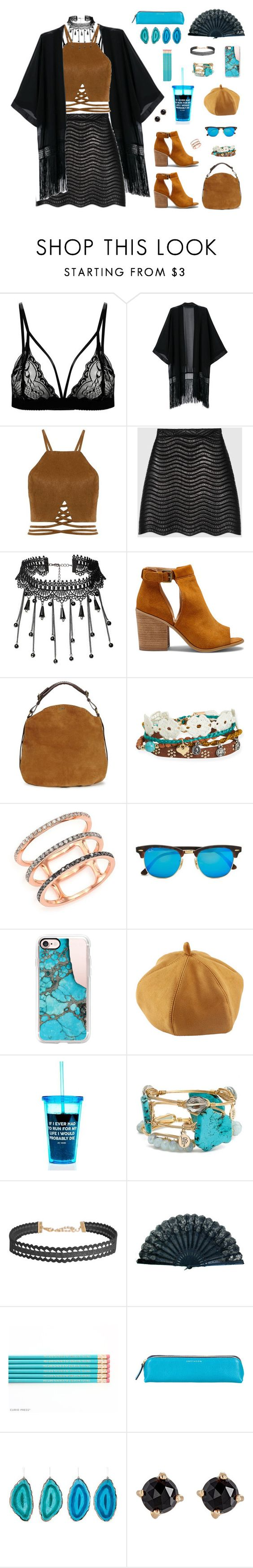 """""""% SO LET'S SET THE WORLD ON FIRE, WE CAN BURN BRIGHTER THAN THE SUN."""" by houseplants ❤ liked on Polyvore featuring Gucci, Sole Society, UGG, Aéropostale, EF Collection, Ray-Ban, Casetify, Bourbon and Boweties, Humble Chic and Smythson"""