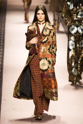 Etro Fall 2015. See the best looks from Milan Fashion Week here: