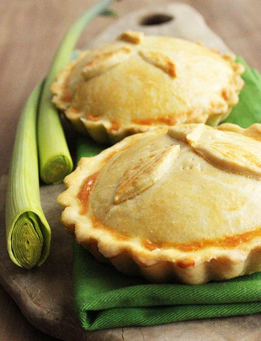 Traditional British Mini Chicken & Mushroom Pie | Recipe ...
