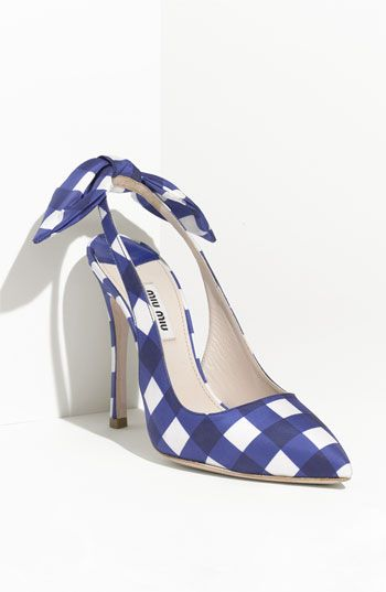 No more Easter Hats...Easter shoes are here...Mui Mui...love  Would totally wear these with jeans!!!