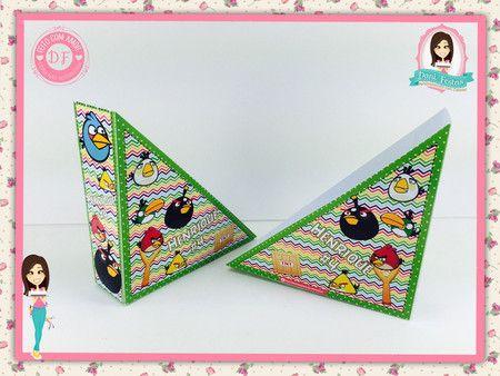 Porta Guardanapo - Angry Birds