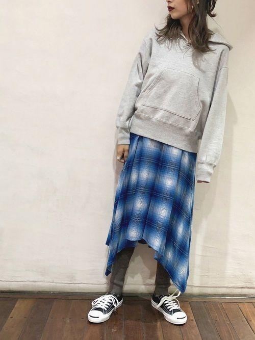 ジ マ adam et rope ルミネ北千住 pheenyのパーカーを使ったコーディネート wear ファッション ファッションコーディネート パーカー