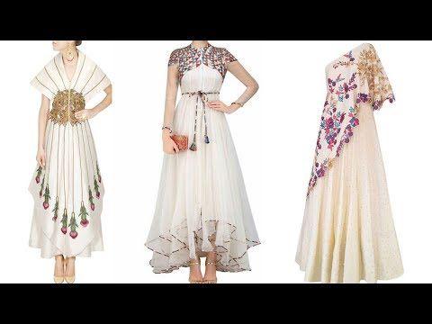 Stylish White Frok Dress Designs Collection For Ladies 2018 Fashion Designer Dresses Dresses