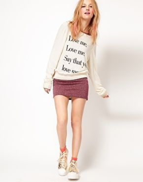 Enlarge Wildfox Love Me Sweat