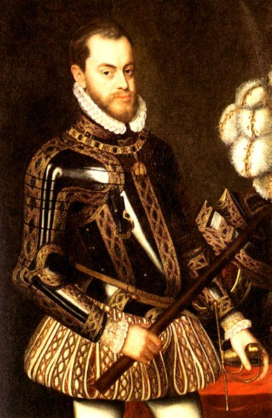 Philip II of Spain, Husband of Mary I (1527-1598)