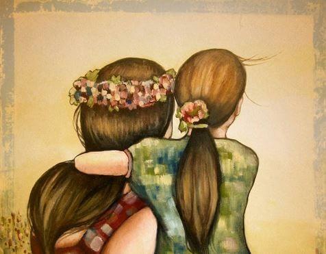 Resultado De Imagen Para Fondos Tumblr Madre E Hija Dibujo Madre