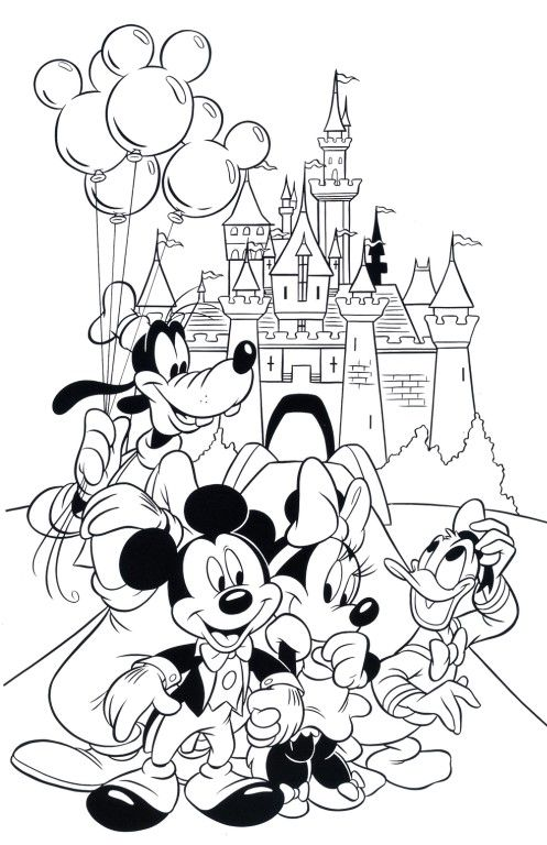 Disney Coloring Pages - Best Coloring Pages For Kids Disney Coloring Pages,  Mickey Coloring Pages, Disney Coloring Sheets
