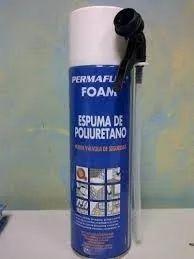 espuma expansiva poliuretano permaflex 500 ml