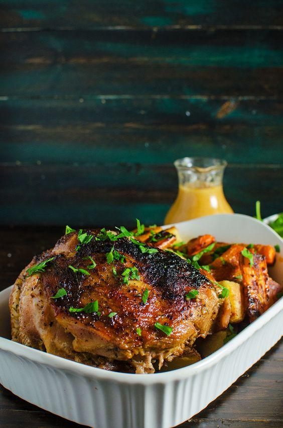 Moist tender pork roast recipe