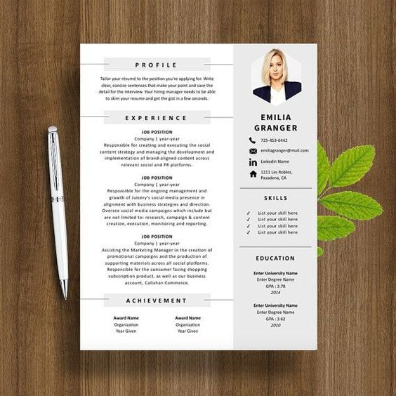 How To Make A Resume Format On Word Resume Format Pinterest  How To Do Resume On Word