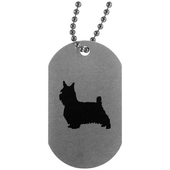 Australian Silky Terrier Dog Tag