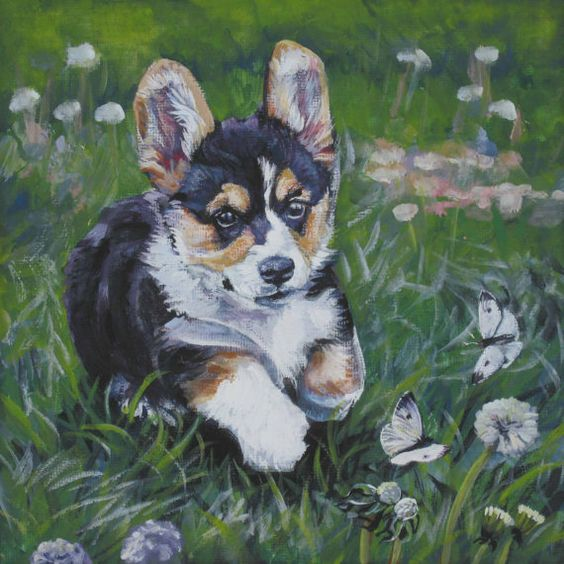 A Custom Pet Portrait an Original Painting by LA by TheDogLover, $175.00
