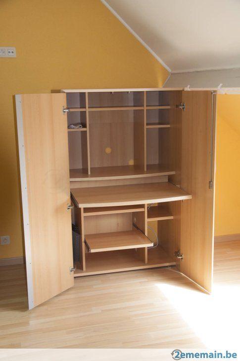 Bureau Meuble Meuble Bureau Ordinateur A Vendre Beloeil Grandglise 2ememainbe Home Decor Furniture Storage