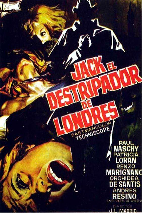 Cim095 Carteles De Cine Cine Jack El Destripador