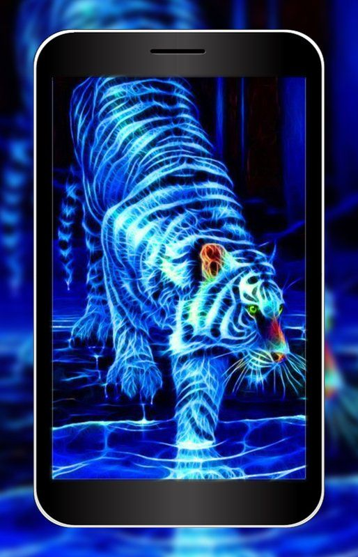 3D Neon Animal Wallpaper HD APK Download - Free