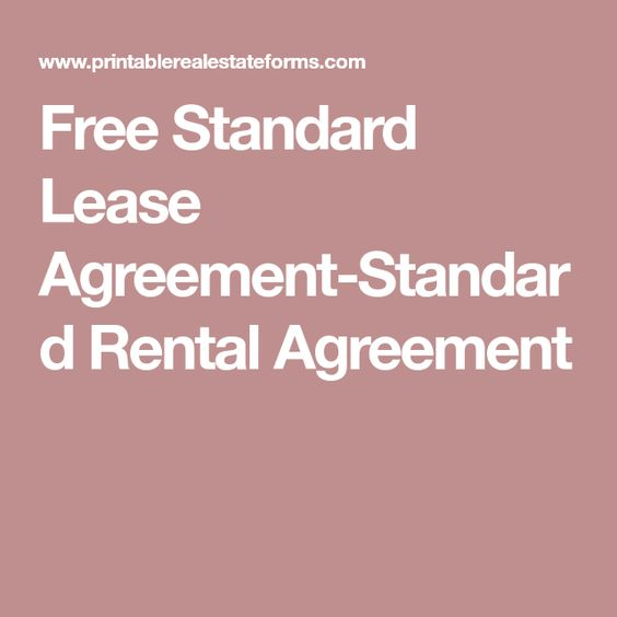 LA Blessed (harveybaby3762) on Pinterest - Residential Rental Agreement