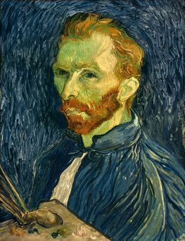 "Vincent van Gogh ""Self-Portrait"" Saint-Rémy: late-August, 1889"