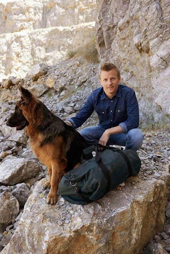 Výsledok vyhľadávania obrázkov pre dopyt kimi raikkonen wrangler dog