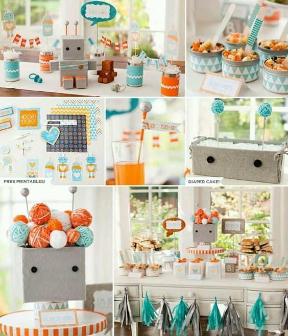 robot baby shower ideas robot party ideas kids party ideas baby ideas