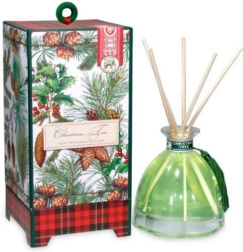 michel design works christmas tree home fragrance diffuser