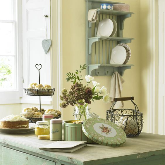 Beautiful French Inspired Country Kitchen.