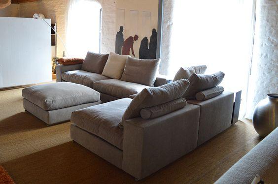 DESIGNERMÖBEL STARK REDUZIERT - Günstiger Design Sofa Pinterest - designer mobel materialmix