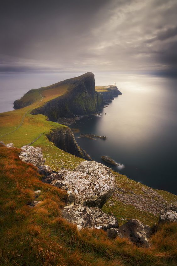End of the world, Neist Point - Isle of Skye | Scotland (by Dylan Toh  Marianne Lim)