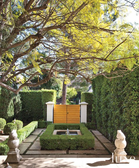 Courtyard Entry Collection And House: The House Pressed Juicery Built