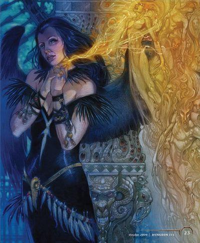 The Raven Queen - 1d4chan