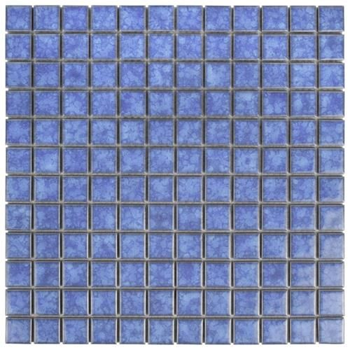 Lagoon Square Aral 11 3 4 X11 3 4 Porcelain Mos In 2020 Porcelain Mosaic Tile Porcelain Mosaic Mosaic Flooring