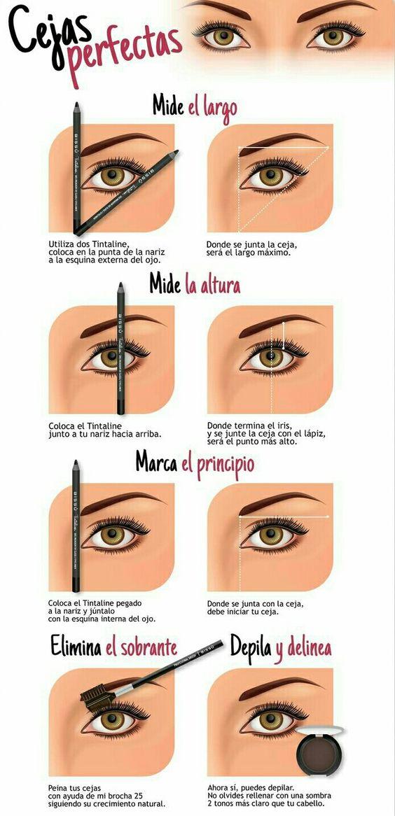 ¡Ir al salón de belleza es cosa del pasado! Aprende como lograr unas cejas perfectas hechas por ti misma.