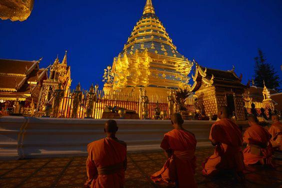 Chiang Mai Thailand - Wat Phra That Doi Suthep: