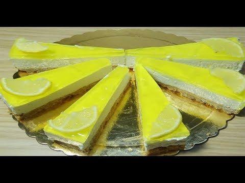 طريقة عمل حلى بارد وسريع وبمذاق خيالي بنكهة الليمون في 5 دقائق Youtube Food Cheesecake Desserts