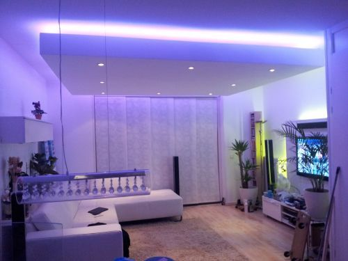 verlichting http://www.ledstrip-specialist.nl  Led strip woonkamer ...